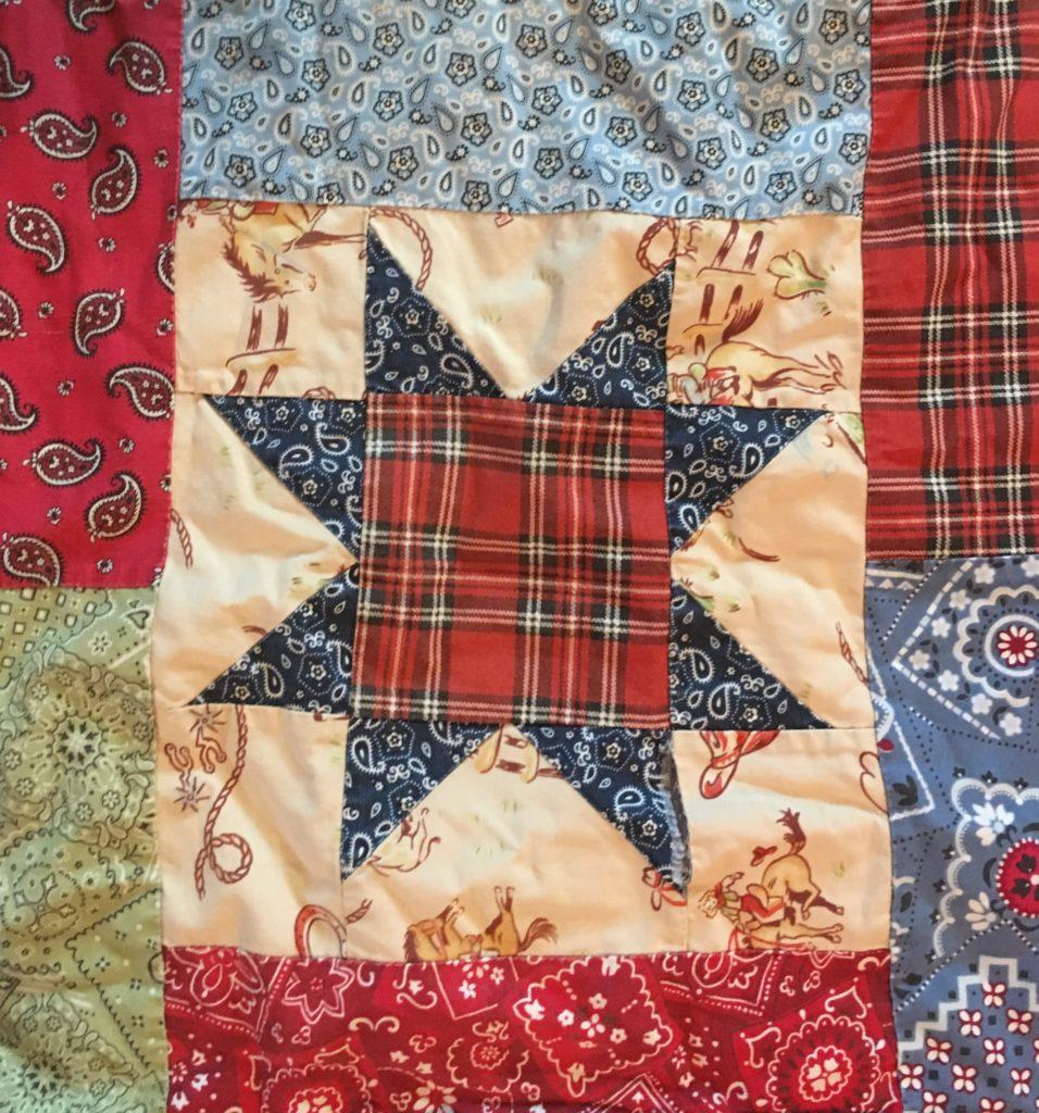 Lucky Stars western quilt