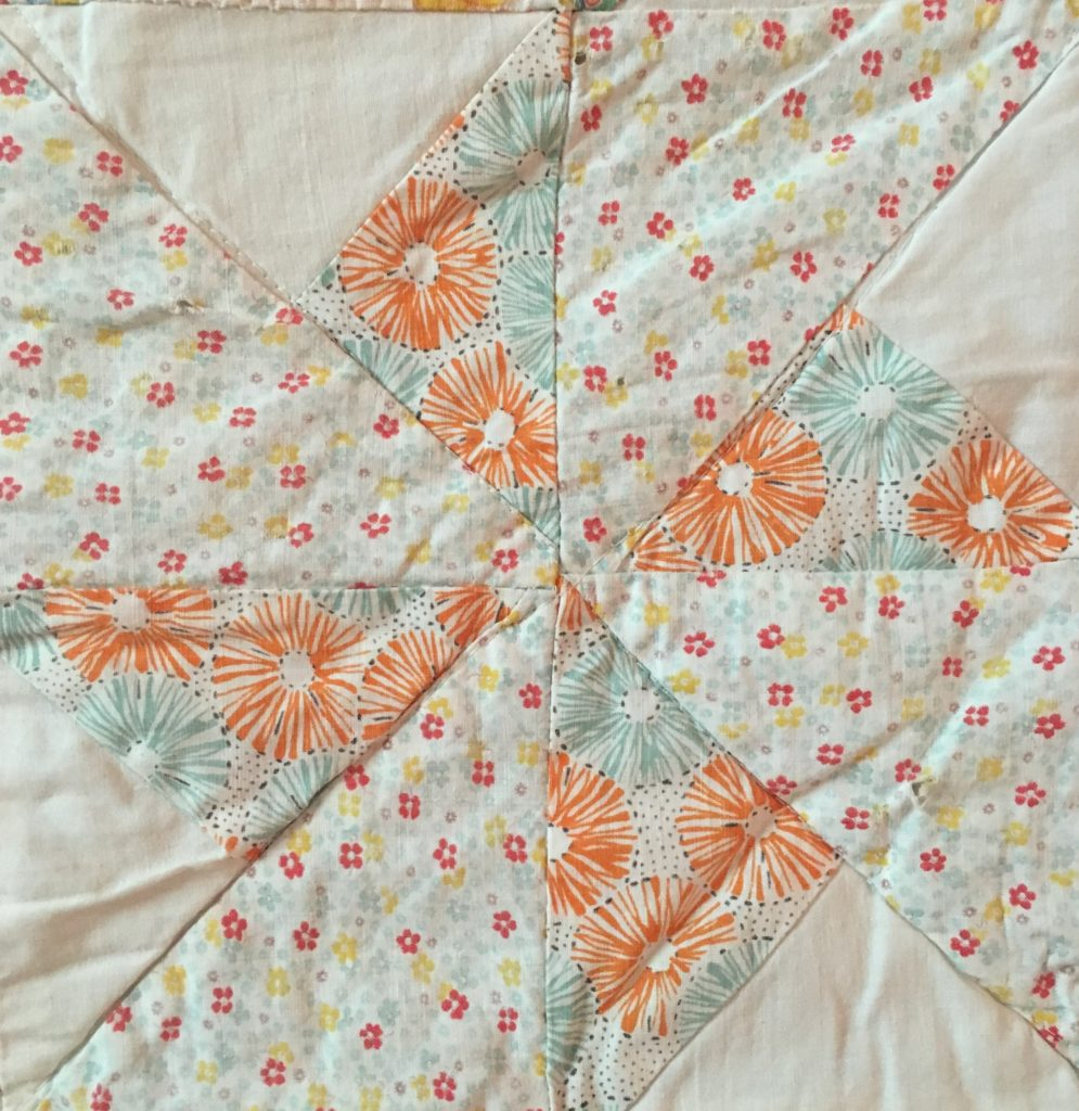 pastel double pinwheel quilt block