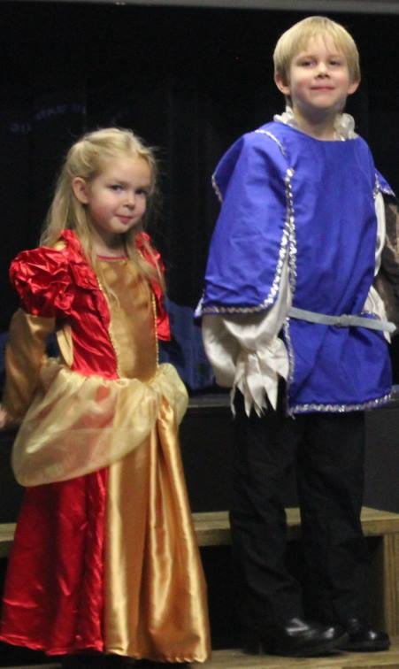 That time we studied Shakespeare and the kids got to be in a series of Shakespeare plays!