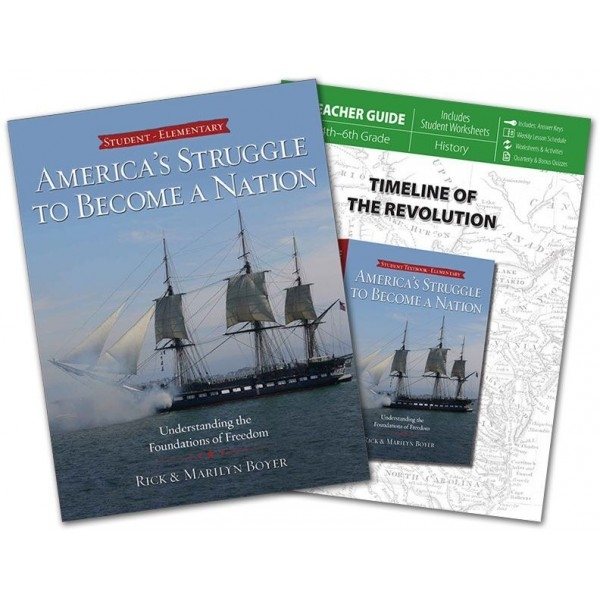 Curriculum Review and Giveaway! American history by Rick and Marilyn Boyer.