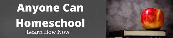 #AnyoneCanHomeschool