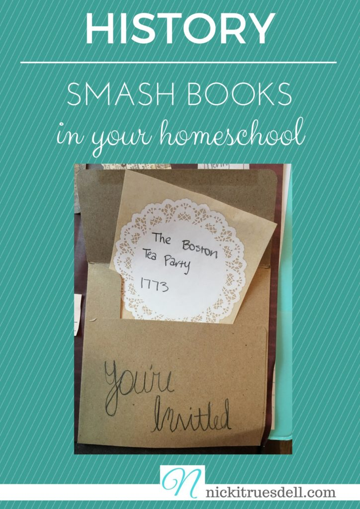 Get creative with smashbooks for history in your homeschooling...click here!