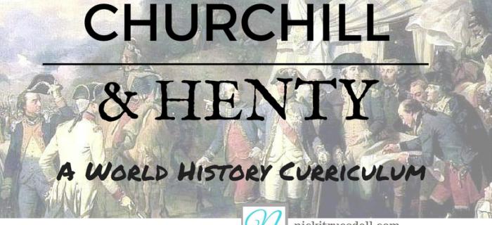 Churchill and Henty: A World History Curriculum