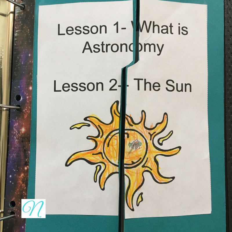 Lapbooking through Apologia Astronomy with A Journey Through Learning
