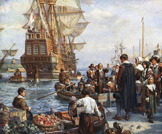 american history homeschool pilgrims thanskgiving