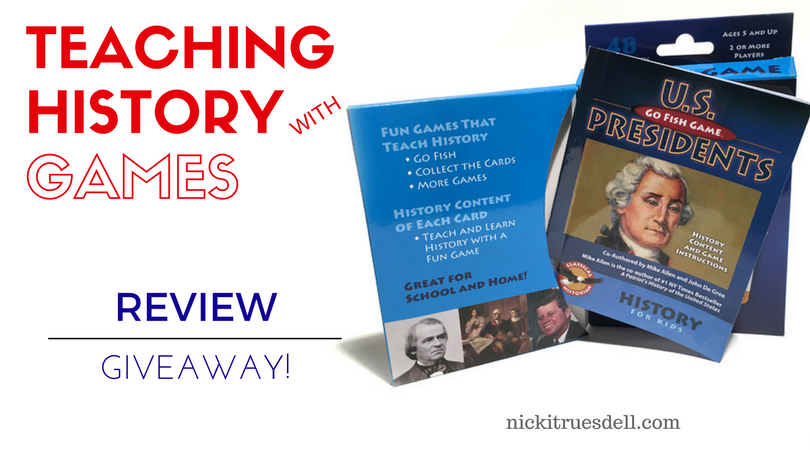 Win a Go Fish U.S. Presidents game from the Classical Historian