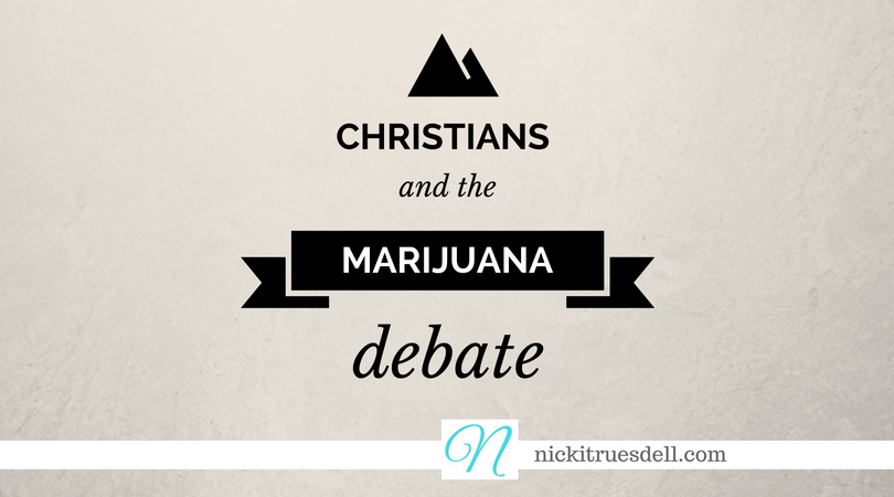Christians and marijuana